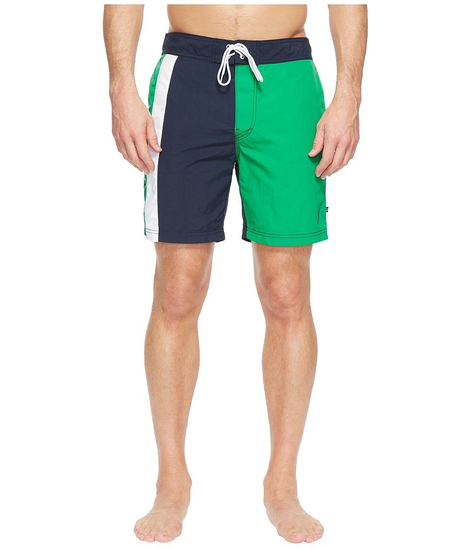 Nautica Nautica Color Blocked Trunk (Rolling Green) Men
