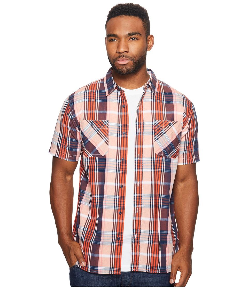 Levi's(r) - Nasher Short Sleeve Woven (Burnt Ochre) Men's Clothing