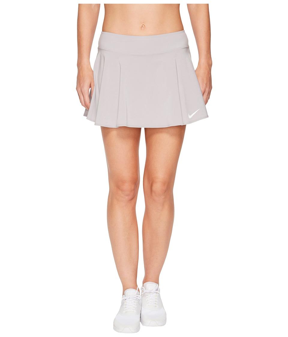 Nike Nike Court Flex Pure Tennis Skirt (Atmosphere Grey/White) Women