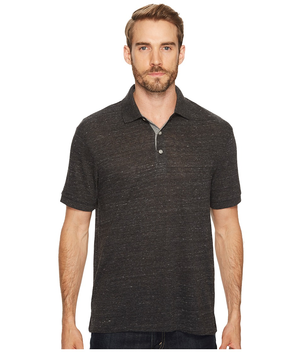 Alternative - Eco Polo (Eco Black/Eco Grey) Men's Clothing
