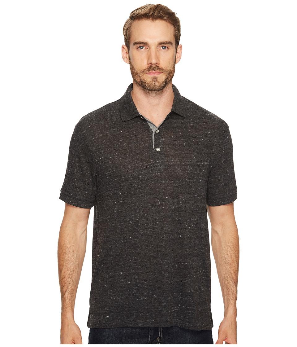 Alternative - Eco Polo (Eco Black/Eco Grey) Men's Clothing