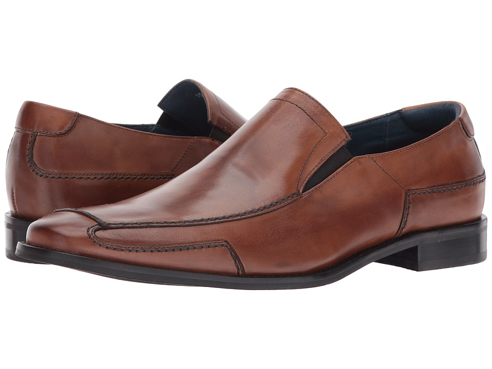 RUSH by Gordon Rush - Shaw (Cognac) Men's Shoes