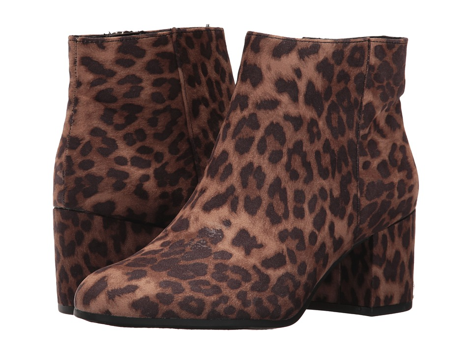 Circus by Sam Edelman Vikki (Black/Brown Cheetah Print Fabric) Women