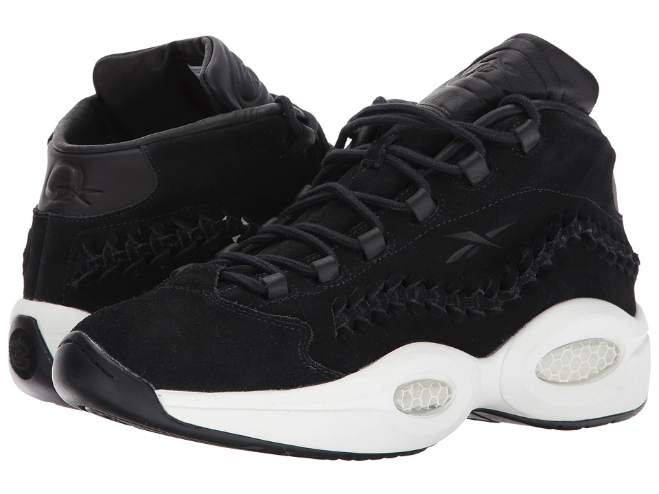 Reebok Lifestyle - Question Mid HOF (Black/Braid) Men's Shoes