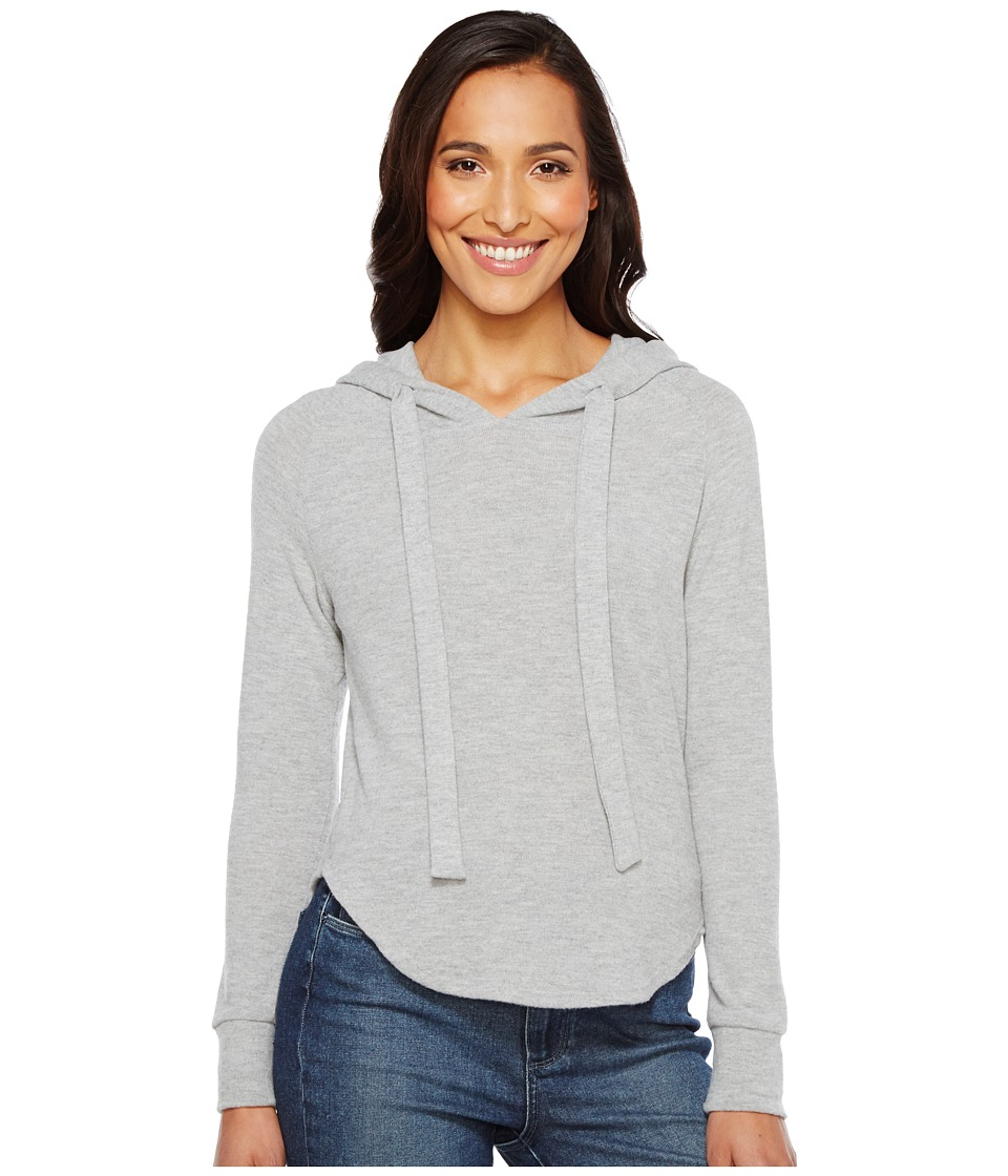 LNA - Cara Hoodie (Heather Grey) Women's Sweatshirt