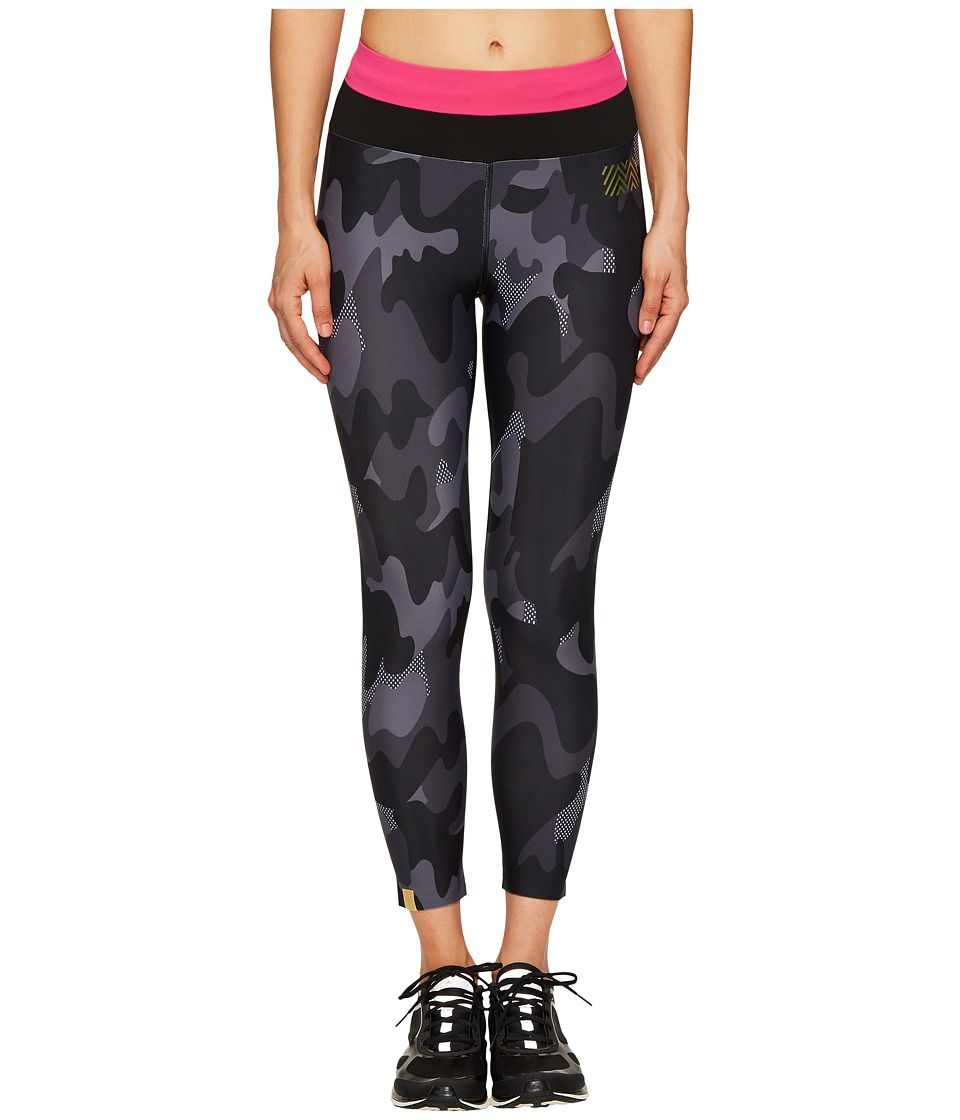 Monreal London - Tribal Leggings (Black Camouflage Print) Women's Casual Pants