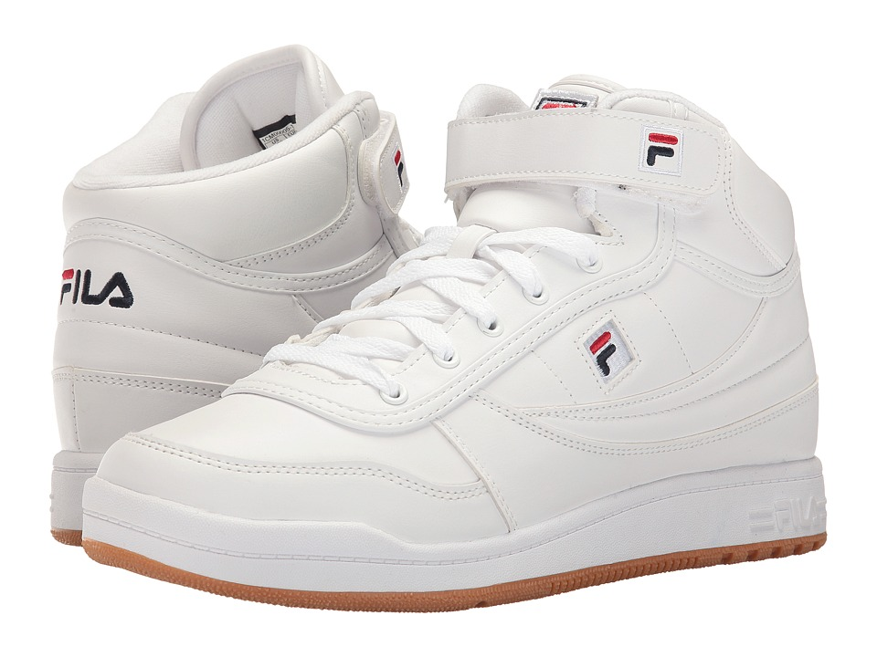 Fila - BBN 84 (White/Fila Navy/Fila Red) Men's Shoes