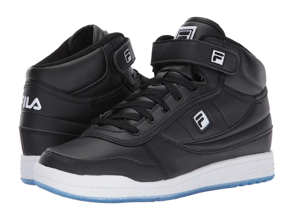 Fila - BBN 84 Ice (Black/Black/White) Men's Shoes