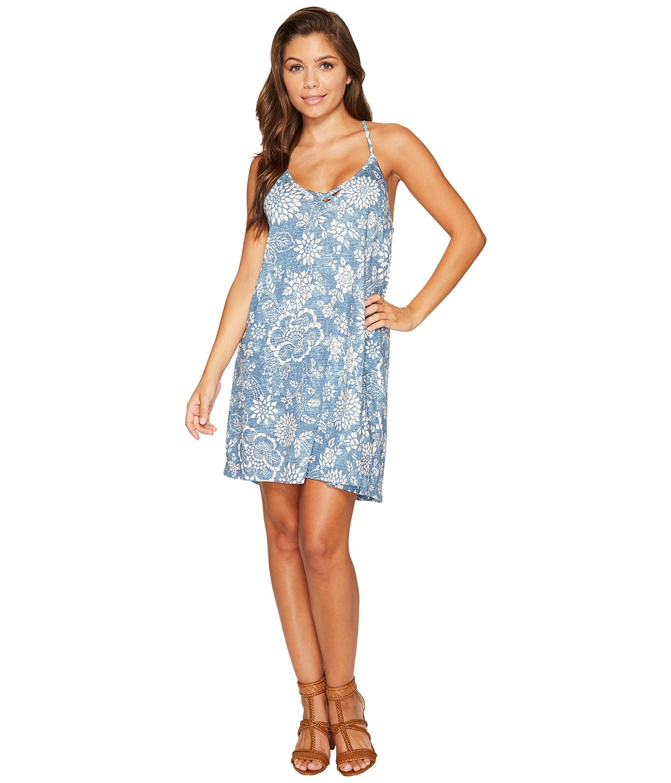 Billabong - Find Love Dress (Indigo) Women's Dress