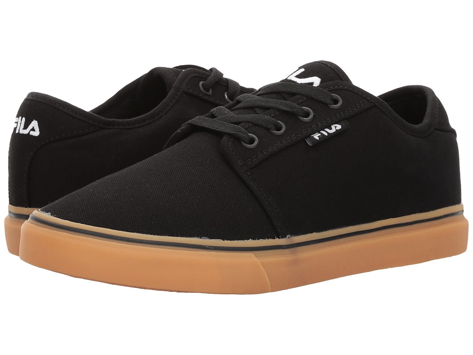 Fila Easterly Canvas (Black/Black/Gum) Men