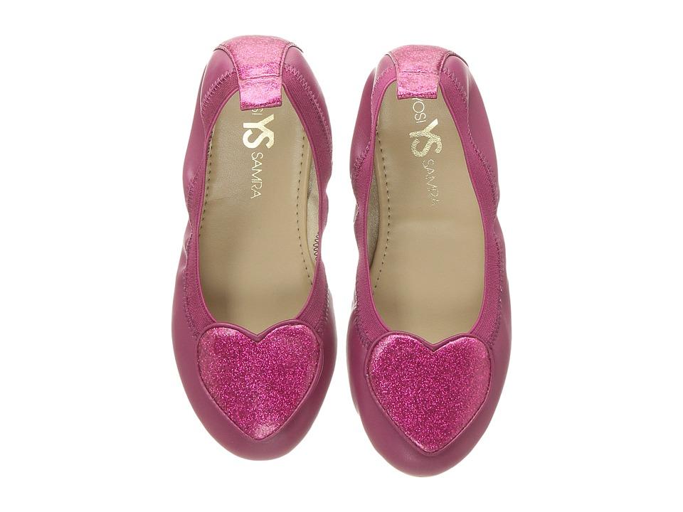 Yosi Samra Kids Miss Suri (Toddler/Little Kid/Big Kid) (Berry) Girls Shoes
