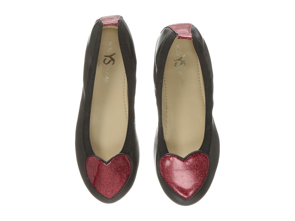 Yosi Samra Kids Miss Suri (Toddler/Little Kid/Big Kid) (Black) Girls Shoes