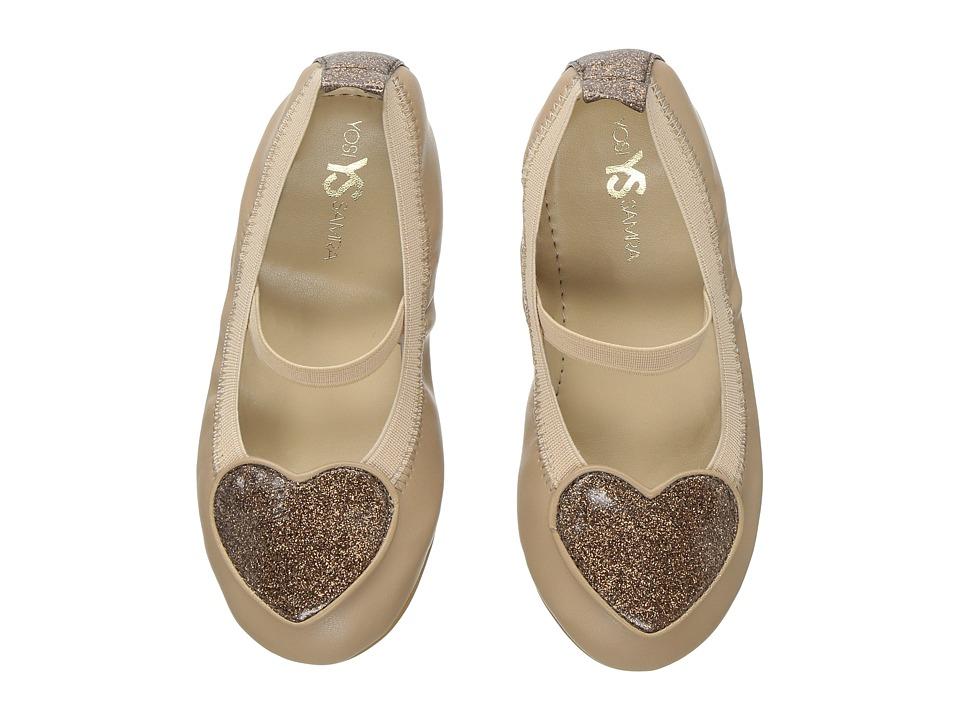 Yosi Samra Kids Miss Suri (Toddler/Little Kid/Big Kid) (Nude) Girls Shoes
