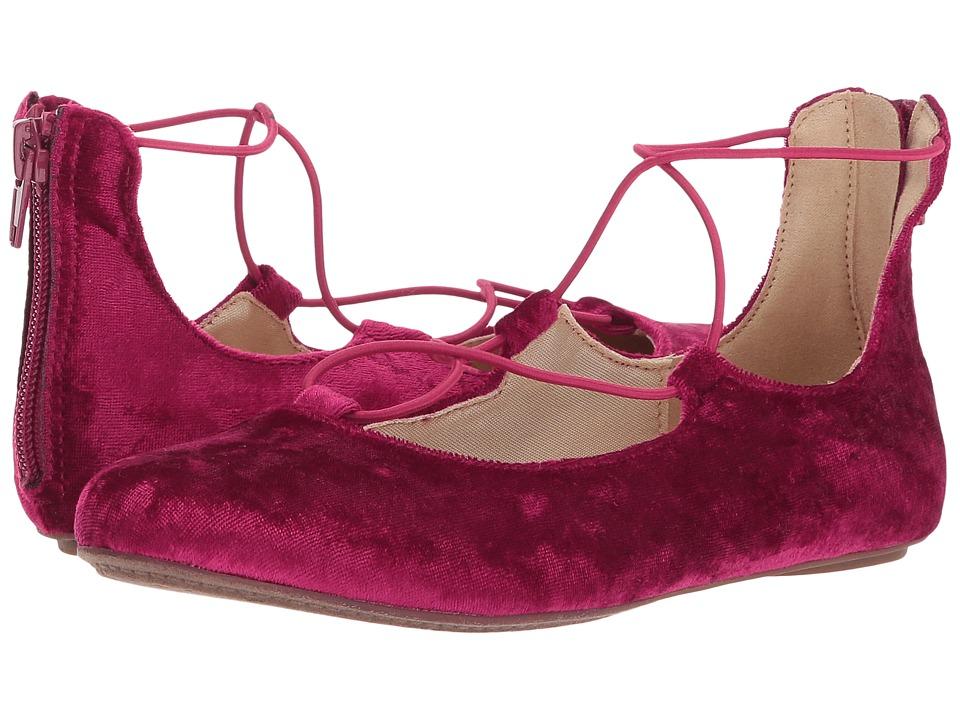 Yosi Samra Kids Miss Shelly (Toddler/Little Kid/Big Kid) (Berry) Girls Shoes