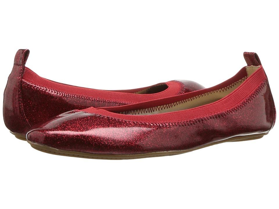 Yosi Samra Kids Limited Edition Miss Samara (Toddler/Little Kid/Big Kid) (Red) Girls Shoes