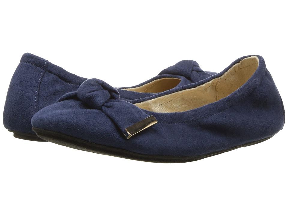 Yosi Samra Kids Miss Stella Knot (Toddler/Little Kid/Big Kid) (Navy) Girls Shoes