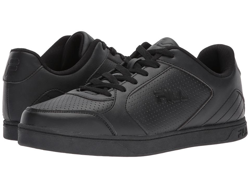Fila - Orlando 5 (Black/Black/Black) Men's Shoes