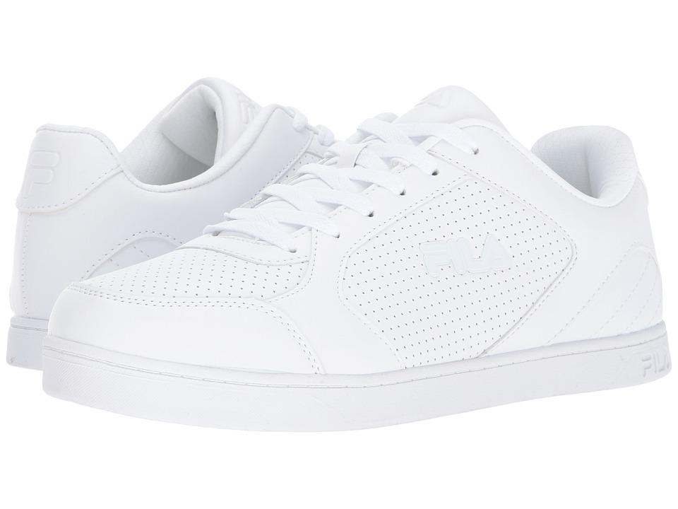 Fila - Orlando 5 (White/White/White) Men's Shoes
