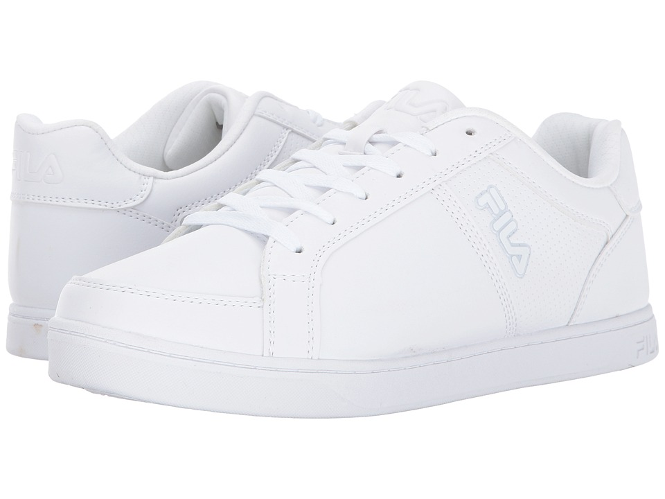 Fila - Keysport (White/White/White) Men's Shoes