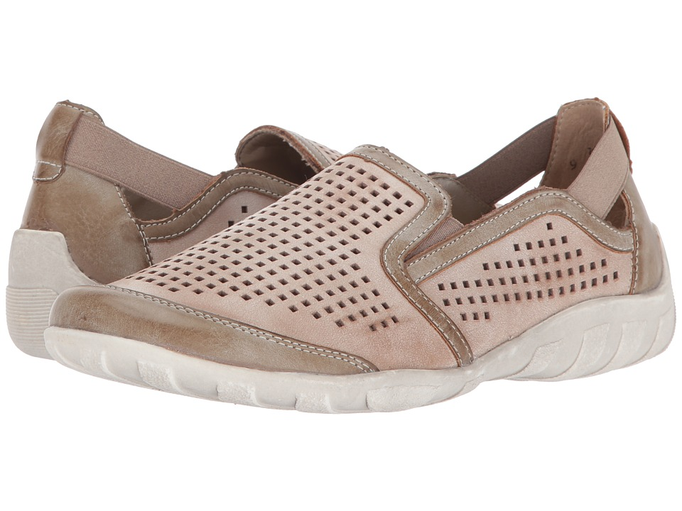 Rieker - R3425 Liv 25 (Taupe/Clay 1) Women's Slip on Shoes