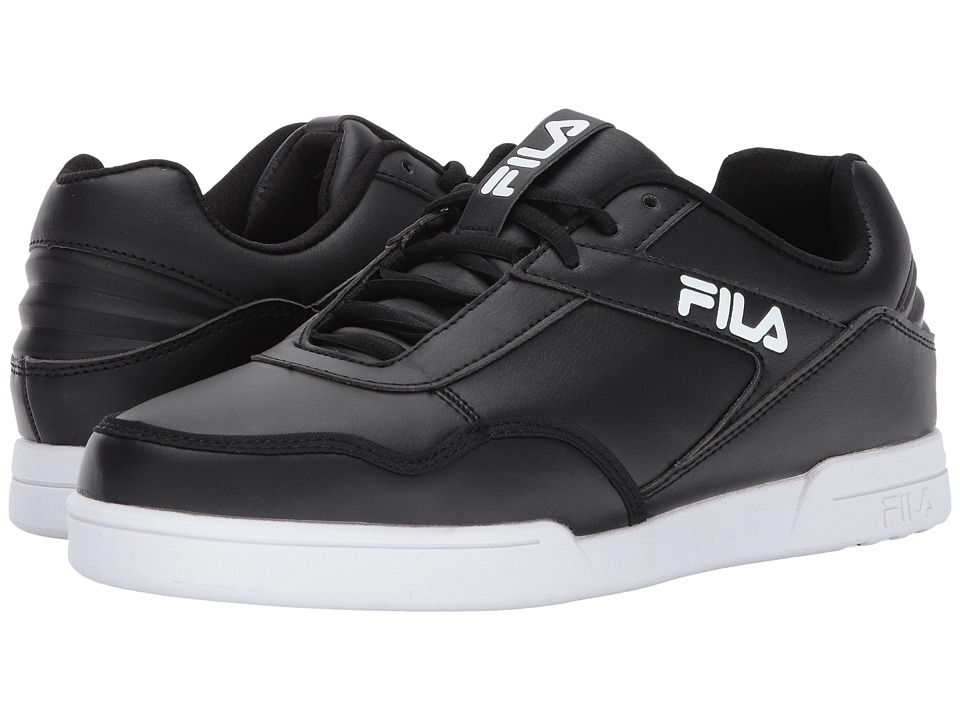 Fila Newplace Low (Black/White/White) Men