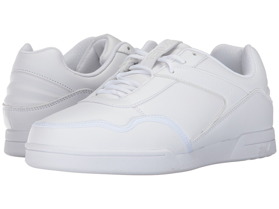 Fila Newplace Low (White/White/White) Men
