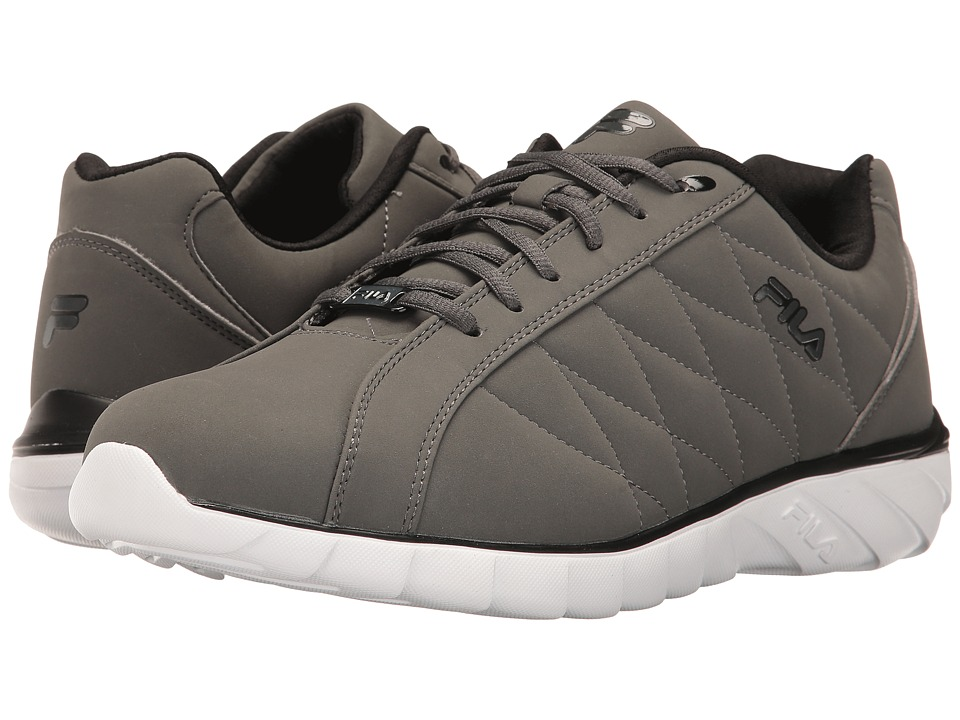 Fila - Sable (Pewter/Black/White) Men's Shoes