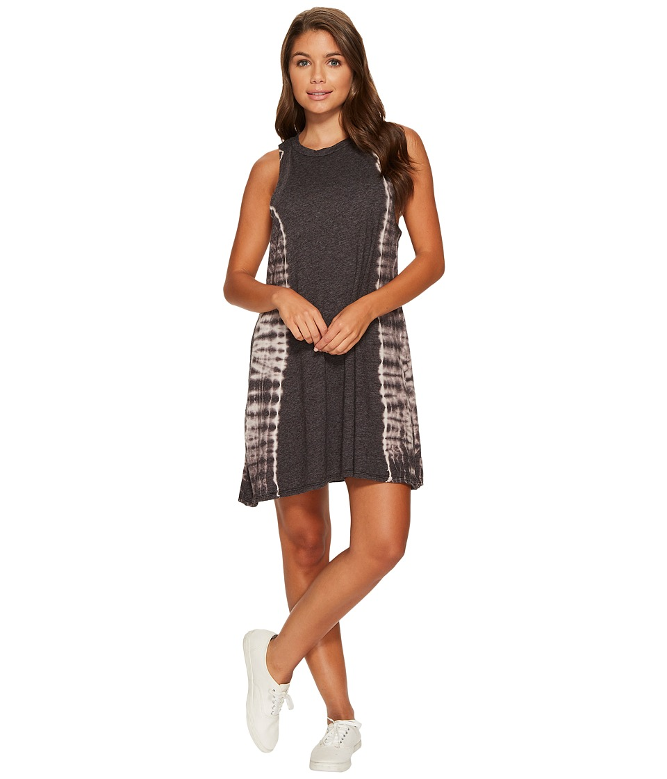 Billabong - By and By Dress (Off-Black) Women's Dress