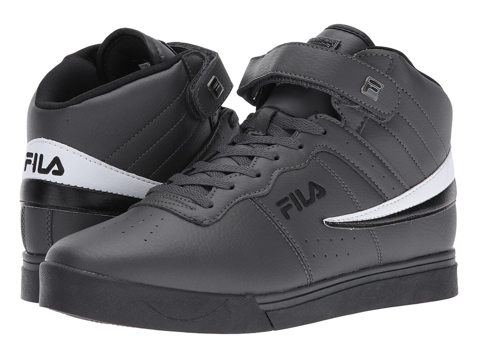 Fila - Vulc 13 Mid Plus (Dark Shade/Black/White) Men's Shoes