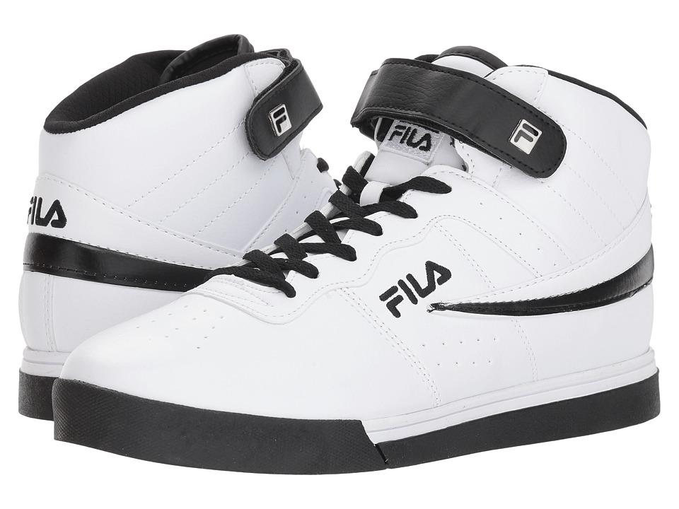 Fila Vulc 13 Mid Plus (White/Black) Men