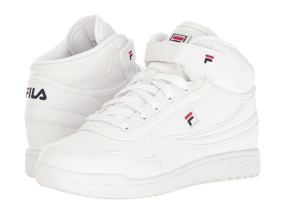 Fila - BBN 84 (White/Fila Navy/Fila Red) Women's Shoes
