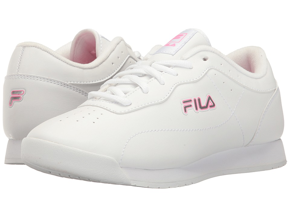 Fila Memory Viable (White/White/Sugarplum) Women