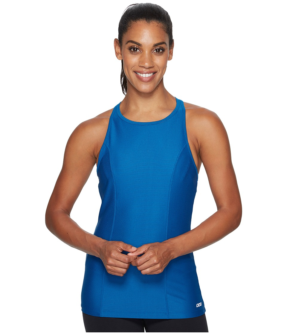 Lorna Jane - Rosie Excel Tank Top (Ocean) Women's Workout