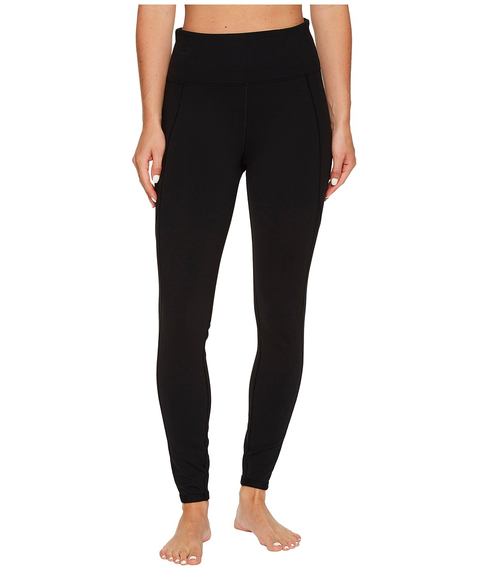 Lorna Jane - Core High Waisted F/LTights (Black) Women's Workout