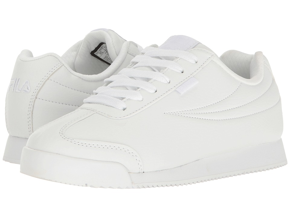 Fila - Mezago (White/White/White) Women's Shoes
