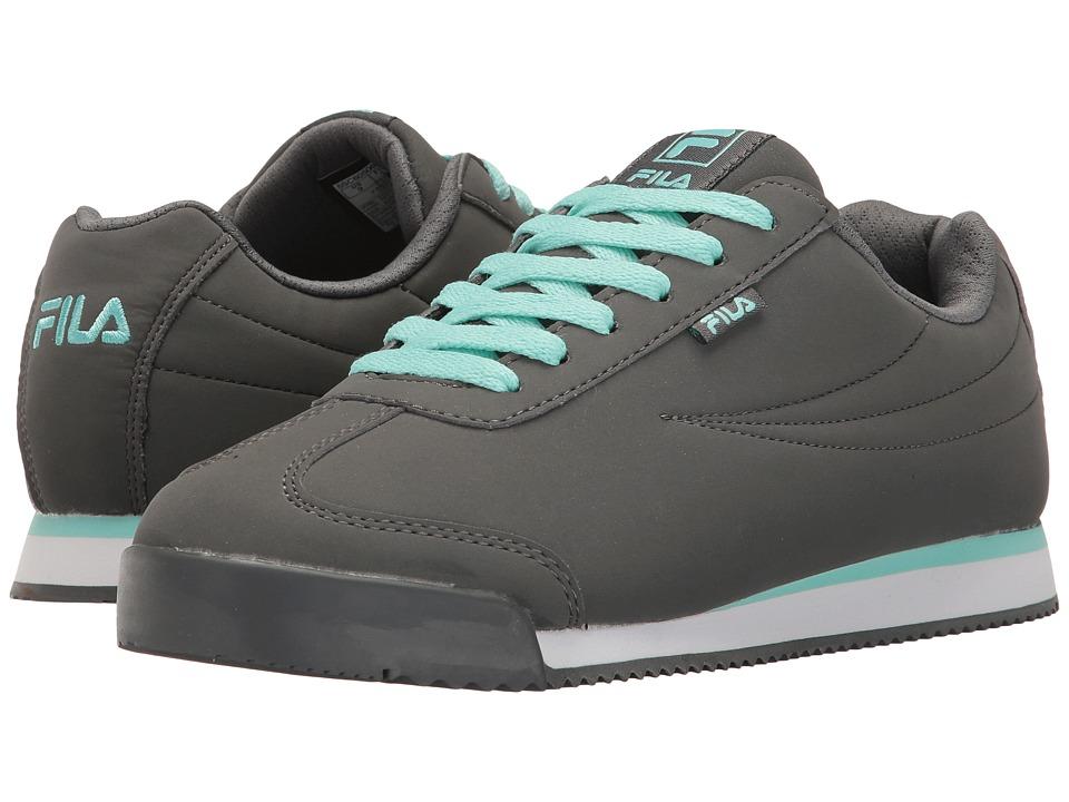 Fila - Mezago (Castlerock/Aruba Blue/White) Women's Shoes