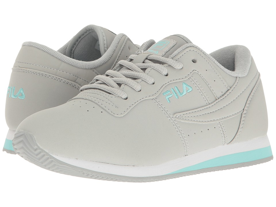 Fila Machu (High-Rise/Aruba Blue/White) Women