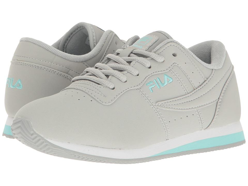 Fila - Machu (High-Rise/Aruba Blue/White) Women's Shoes