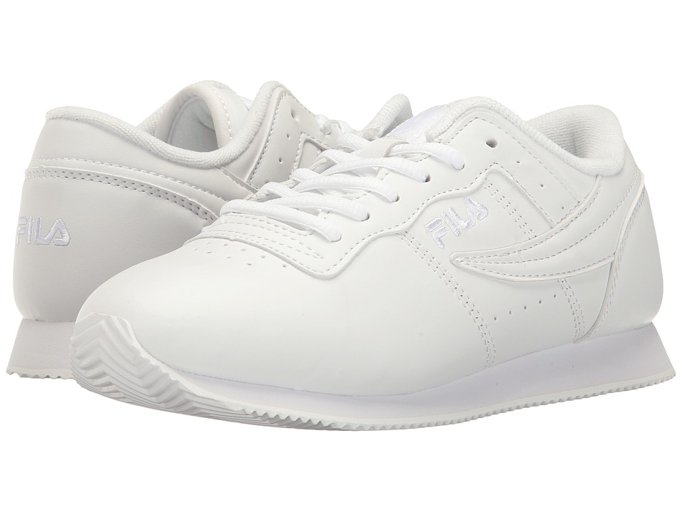 Fila - Machu (White/White/White) Women's Shoes