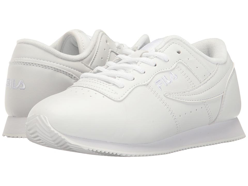 Fila - Machu (White/White/White) Women's Shoes