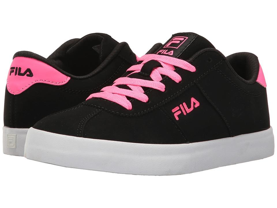 Fila - Rosazza (Black/Knockout Pink/White) Women's Shoes