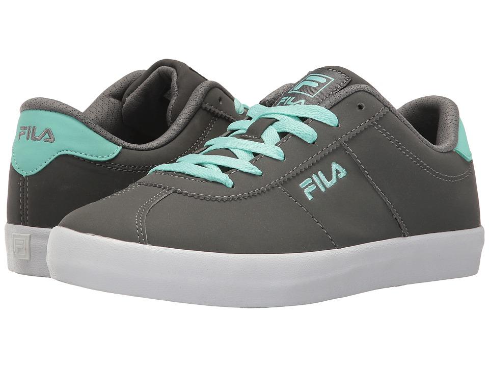 Fila - Rosazza (Castlerock/Aruba Blue/White) Women's Shoes