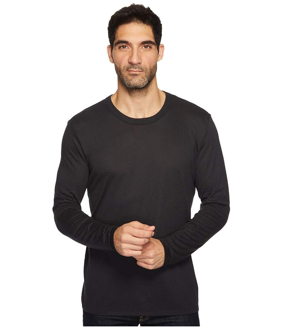 Alternative - The Keeper Long Sleeve (Black) Men's Clothing