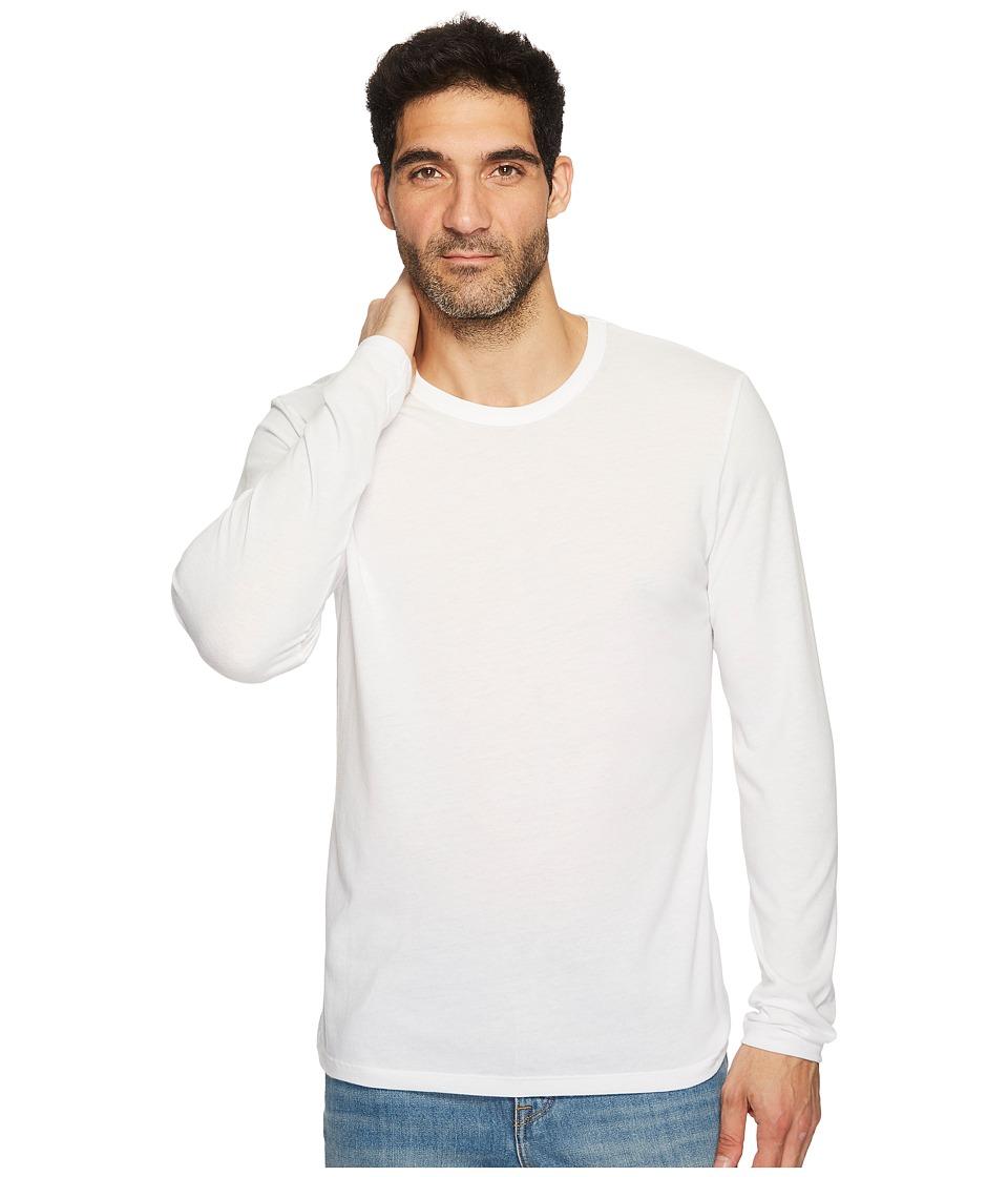 Alternative - The Keeper Long Sleeve (White) Men's Clothing