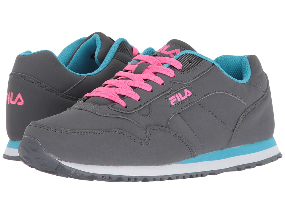 Fila - Cress (Castlerock/Blue Atoll/Knockout Pink) Women's Shoes