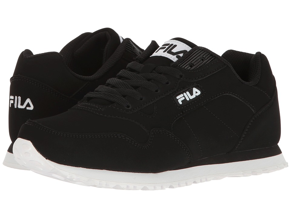 Fila - Cress (Black/Black/White) Women's Shoes