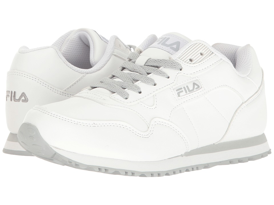 Fila - Cress (White/Highrise) Women's Shoes