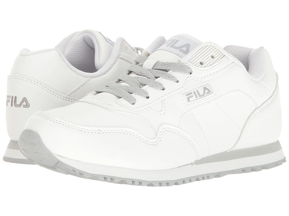 Fila - Cress (White/Highrise) Women's Shoes