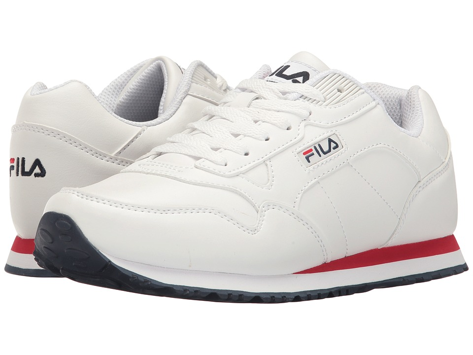 Fila - Cress (White/Fila Navy/Fila Red 1) Women's Shoes