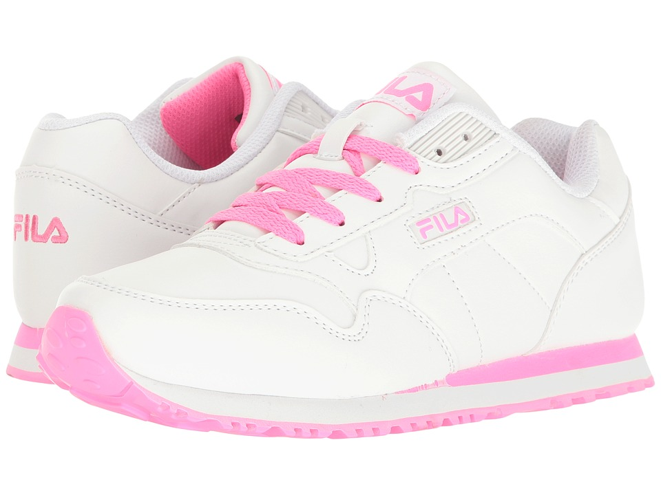 Fila - Cress (White/Sugarplum) Women's Shoes